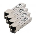 HP MSA 2040 1Gb RJ-45 iSCSI SFP+ 4-Pack Transceiver